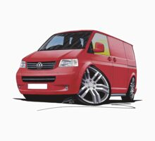 VW T5 Sportline Van Red Kids Clothes
