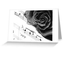 Music of Passion Greeting Card