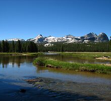 The Cathedral Range, Tuolumne Meadows, Pacific Crest Trail, CA 2012 by J.D. Grubb