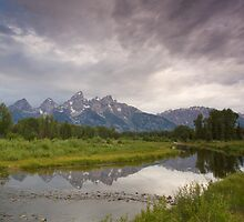 Schwabacher's Landing Shoals by A.M. Ruttle