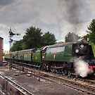 SR West Country Class 4-6-2 No. 34007 Wadebridge by Steve  Liptrot
