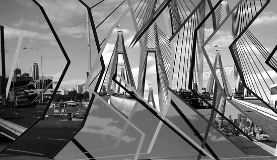 ANZAC Bridge Montage by AHakir