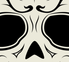 TRIBAL ~ Skull Sticker