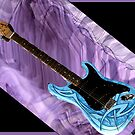 The Blue Guitar by deborah zaragoza