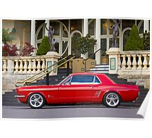 Keith Keily's 1966 Ford Mustang Coupe Poster