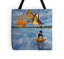 Butterfly Sailing Tote Bag