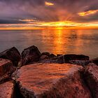 Rocky Sunset 2 by Brad Tierney