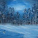 """Winter Scene 4""  by Carter L. Shepard by echoesofheaven"