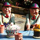 Tweedledum and Tweedledee by Marilyn Harris