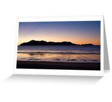 Dawn, South Mission Beach, Far North Queensland Greeting Card