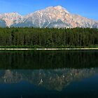 Patricia Lake Panorama by Charles Kosina