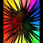 """Rainbow Splat"" - phone by Michelle Lee Willsmore"