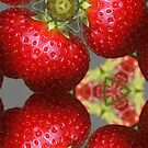 Strawberrie caleidoscope by Nicole W.