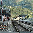 Railway Station West Interlaken Switzerland by ashishagarwal74