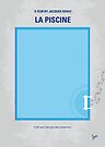 No137 My La Piscine minimal movie poster by Chungkong