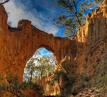 Golden Gully Arch. by Julie  White