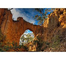 Golden Gully Arch. Photographic Print