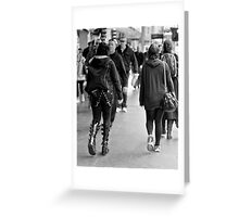 Why fit in, when you were born to stand out ... Greeting Card