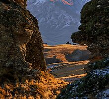 Secret Passage - Nevis Valley, New Zealand by Matthew Kocin
