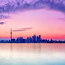 Toronto skyline by Zoltán Duray