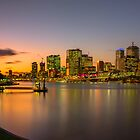 River Sunset by Mark  Lucey