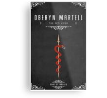 Oberyn Martell Personal Sigil Metal Print