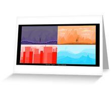 Pixel Atmosphere [01] Greeting Card
