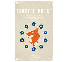 House Florent Photographic Print