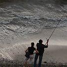 Fishing together - Pescando juntos by PtoVallartaMex