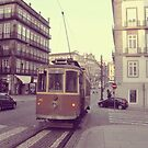 Old Tram, Porto, Portugal by Ana  Eugénio