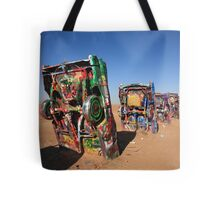 Route 66 - Cadillac Ranch Tote Bag