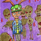 who invited the zombie rabbit's by StuartBoyd