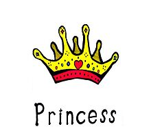 Princess Iphone / ipod Case for Girls by MarinaArts
