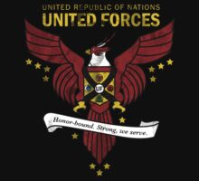 United Forces Insignia by Rachael Thomas