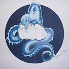 Wall mural for martial arts gym by alan  sloey