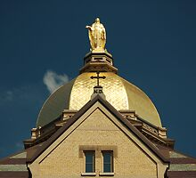 Golden Dome-University of Notre Dame by NAH Photography