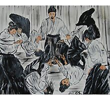 """Aikijutsu""  by Carter L. Shepard Photographic Print"