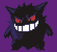 Gengar Retro by DragonBoyAC
