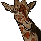 &quot;Giraffe&quot;  by Carter L. Shepard by echoesofheaven