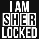 Sherlocked - white text by sstilinski