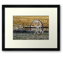 Pastures of Ice #1 Framed Print