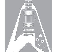 Gibson Flying V by Jason Jeffery