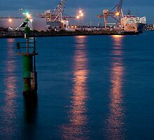 Fremantle Harbour, Western Australia by Paul Dean