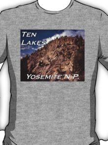 Ten Lakes Basin - Yosemite N.P. T-Shirt