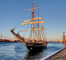 Leeuwin & Endeavour HDR by Nigel Donald