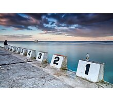 Merewether Ocean Baths - The tenth man Photographic Print