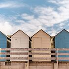 Beach huts ~ Summerleaze Beach, Cornwall, UK by Zoë Power