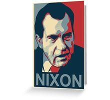 Nixon's The One Greeting Card