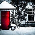 Fresh Snow Red by William Rottenburg
