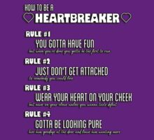 How to Be a Heartbreaker by rebeccaariel